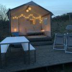 Tenthuis De Waddenschat op Kampeerterrein Stortemelk, Vlieland (voorheen Lente)